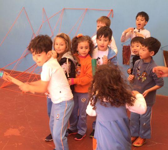 Infantil V participa de gincana
